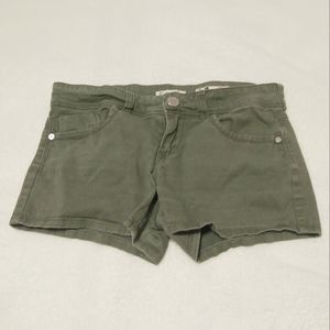 Indigo Rein Olive Green Shorts Size 3